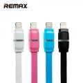 Дата кабель REMAX RM-000217 Breathe with LED Дата кабель для iPhone 5/6/7 (Blue)