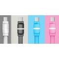 Дата кабель REMAX RM-000216 Breathe with LED MicroUSB (Black)