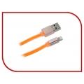 Дата кабель REMAX RM 160 Colorful для iPhone 5/6/7 (оранж)