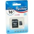 Карта памяти Smart Buy microSD 16Gb 10 class