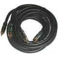 Видеокабель Phoenix Gold  VRX 920 CV ( RCB Video Interconnect, 2 м, 75 Ohm, 3 RCA)
