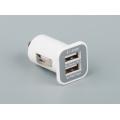 Зарядное устройство для мобильных устройств Jeneca 2 USB 2.1A  белый REMAX Автомобильное ЗУ на 2 USB 2.1A+1A белый (12/24)