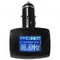 FM модулятор ACV FMT 142 серый трансмиттер (USB 2.0, SD)