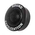 Акустика высокочастотная Kicx Sound Civilization T26TM
