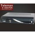 TV-Тюнер цифровойTeleman S 300 PVR (эфирный приемник до 2000 каналов, 2 выхода SCART, USB запись/воспроизведение PVR, многоязыко