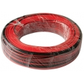 Провод монтажный  0.75 x 2 ACV (100м)  Черный/Красный