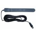 Автомобильная антенна ACV AN 15 1001 DVB-T активная цифроваая со встроенным усилителем,влагозащищкенная (в бампер) 3F коннектор