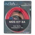Комплект установочных проводов MD.Lab MDS-KIT-8A  8 Ga