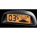 Парктроник Park master 4-DJ-30 S (4 датчика, серебр., измен подсветка, эффект памяти, голосовое или звуковое оповещение)