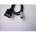 Кабель USB разъем к штатной магнитоле Toyota тип1