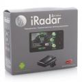 Радар-детектор Cobra S 155 RU  (360°,установка под капот, с лазер.диопаз,Android 2,1,город/трасса. голос.оповещ,GPS, пробки, кар